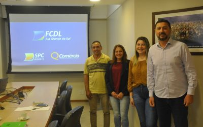 Presidente da ACIPO visita FCDL-RS