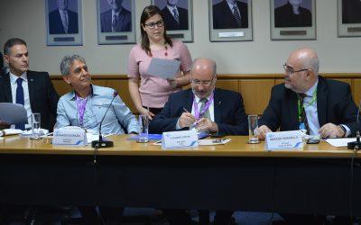 Cladimir Coppini representa a FCDL-RS em reunião do Conselho Deliberativo do Sebrae/RS