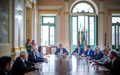 Comércio e prefeitura de Porto Alegre dialogam sobre como evitar a expansão do coronavírus