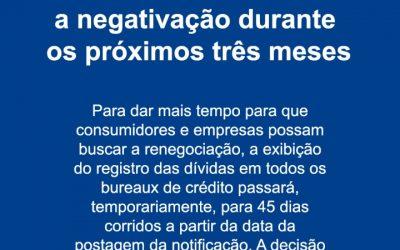 SPC Brasil informa sobre adiamento de registros