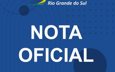 NOTA OFICIAL DA FCDL-RS