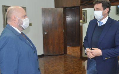 Presidente Vitor Augusto Koch também pede apoio da Assembleia às demandas dos lojistas