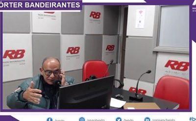 Presidente Vitor Augusto Koch participa do programa Repórter Bandeirantes