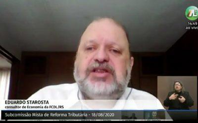 Entidades empresariais criticam a revisão do Simples Gaúcho na reforma tributária