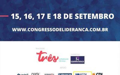 Congresso sobre liderança transformacional inicia nesta terça-feira (15/09)