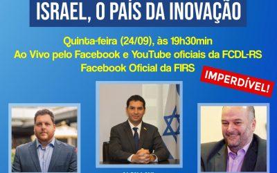 Cônsul Geral de Israel em São Paulo fala sobre o grande investimento de seu país na inovação