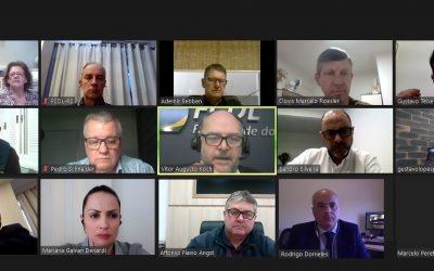 Cenário atual do varejo é debatido em reunião da Diretoria Executiva da FCDL-RS