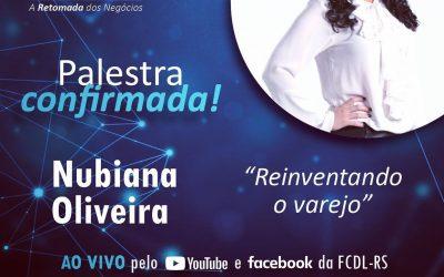 Reinventando o varejo será o tema da palestra de Nubiana Oliveira