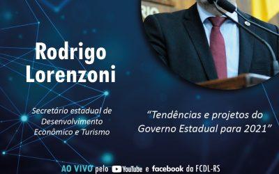 Tendências e projetos do Governo do Estado serão apresentadas na convenção
