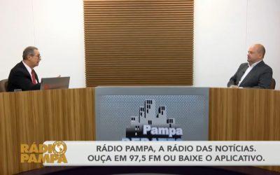 Presidente Vitor Augusto Koch faz balanço de 2020 e projeta 2021 no Pampa Debates