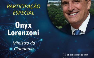 Ministro da Cidadania, Onyx Lorenzoni, participa da 51a Convenção Estadual Lojista