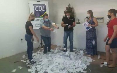 CDL Alpestre distribuiu R$ 10,4 mil em prêmios na Campanha Compra Premiada