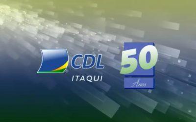 CDL Itaqui celebra seus 50 anos