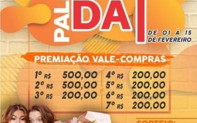 Tradicional campanha Palmeira Liquida vai até 15 de fevereiro