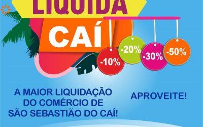 Liquida Caí mobiliza o comércio caiense