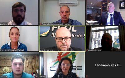 Presidente Vitor Augusto Koch reforça posição da FCDL-RS em favor do livre comércio