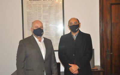 Presidente Vitor Augusto Koch visita o jornal Correio do Povo