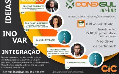 CIC Garibaldi promove, em agosto, o CONEXSUL