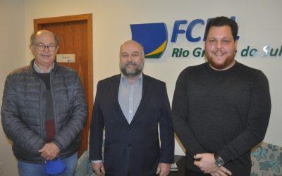 Parceria FCDL-RS e FIRS projeta ações de apoio ao varejo gaúcho