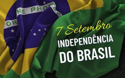 7 de Setembro – 199 anos da Independência do Brasil