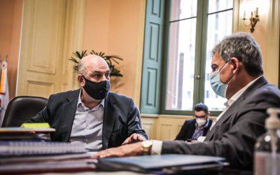Presidente Vitor Augusto Koch reúne-se com prefeito de Porto Alegre, Sebastião Melo