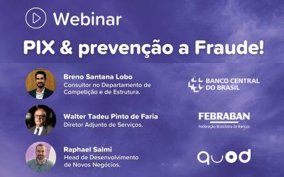 Webinar mostra como prevenir fraudes ao usar o PIX